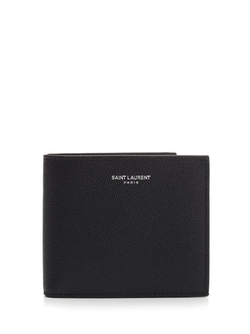 Saint Laurent Logo Bifold Wallet