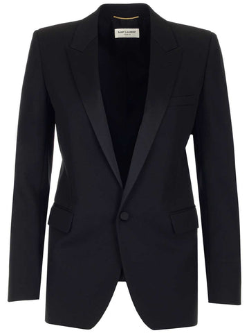 Saint Laurent Giacca Smocking Blazer