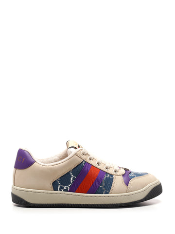 Gucci Web Screener Sneakers