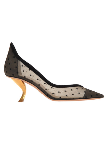 Dior Polkadot Pumps