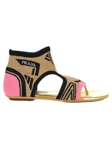 Prada Socks Sandals