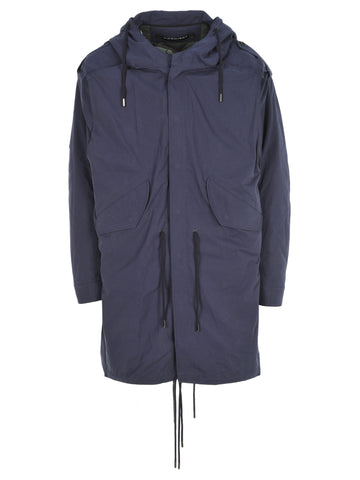 Y / Project Drawstring Hooded Parka