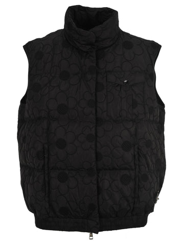 Moncler X Simone Rocha Floral Embroidered Gilet