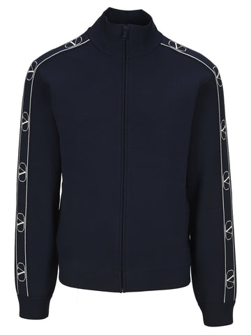Valentino V Logo Band Jacket