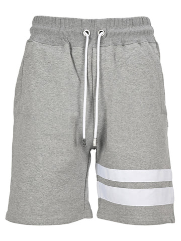 GCDS Striped Track Shorts