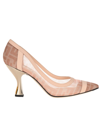 Fendi Colibri Sheer Detail Pumps
