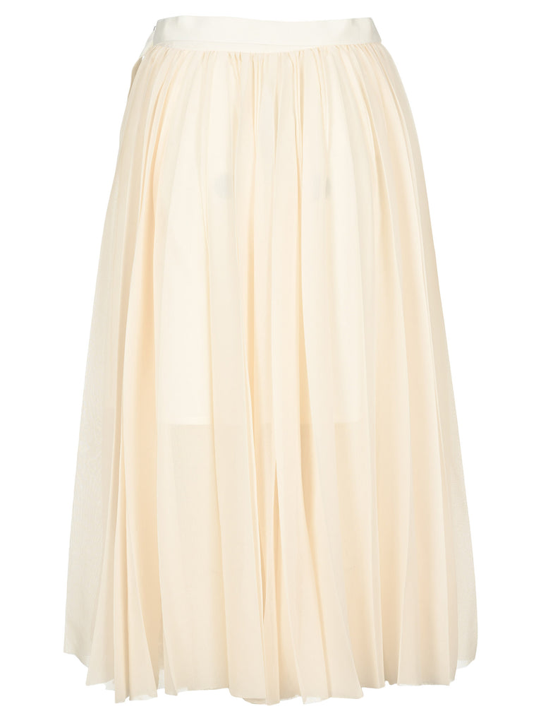 Sacai Pleated Midi Skirt
