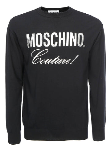 Moschino Couture Printed Pullover