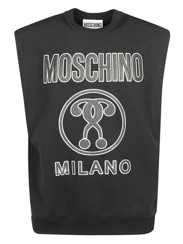 Moschino Logo Printed Muscle T-Shirt