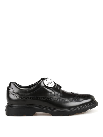Hogan H393 Derby Brogue Shoes
