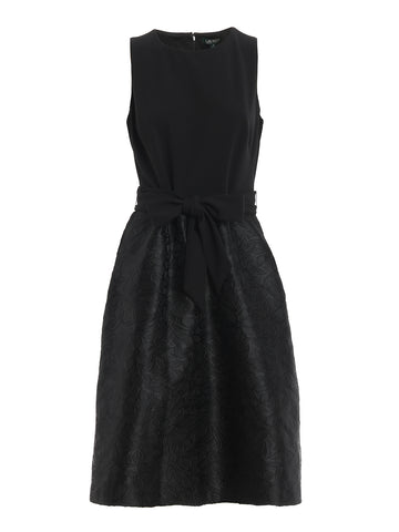 Lauren Ralph Lauren Bow Jacquard Dress