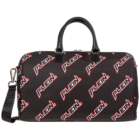 Philipp Plein All Over Logo Duffle Bag