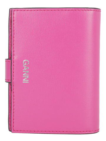 Ganni Textured Mini Wallet