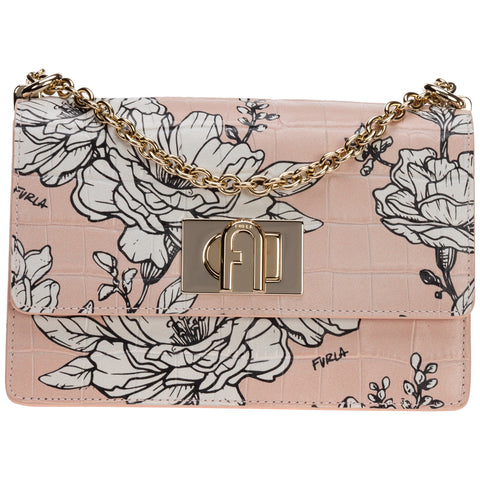 Furla 1927 Floral Shoulder Bag
