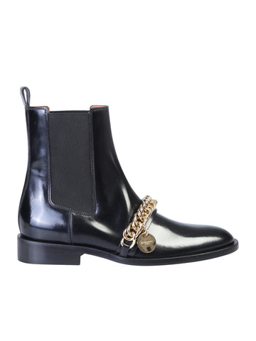 Givenchy Chain Detail Ankle Boots