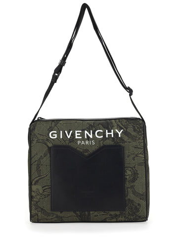 Givenchy Astral Print Messenger Bag