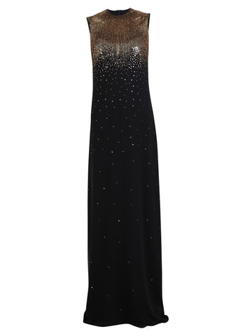 Givenchy Sleeveless Sequin Detail Evening Dress