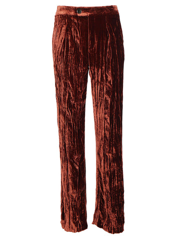 Chloé Wide Leg Waistband Pants