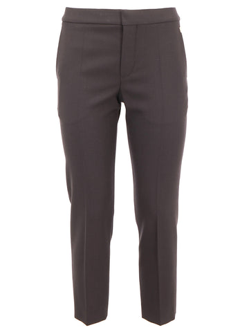 Chloé Cropped Straight Fit Pants