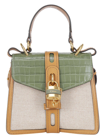 Chloé Aby Colour Block Tote Bag