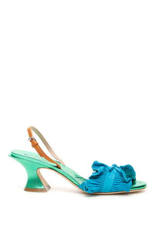 Lanvin Pleated Sandals