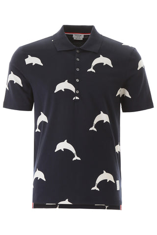 Thom Browne Dolphin Polo Shirt