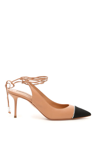Aquazzura Mystique Slingback Pumps