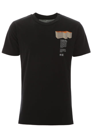 Off-White Rationalism Building Print T-Shirt