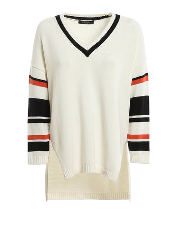 Weekend Max Mara Contrasting Stripes Sweater