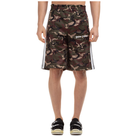 Palm Angels Camouflage Track Shorts
