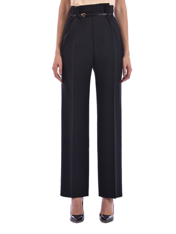 Bottega Veneta High Waisted Belted Pants