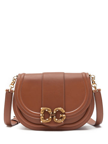 Dolce & Gabbana Monogram Embellished Shoulder Bag