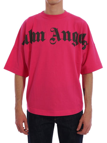Palm Angels Logo Printed T-Shirt