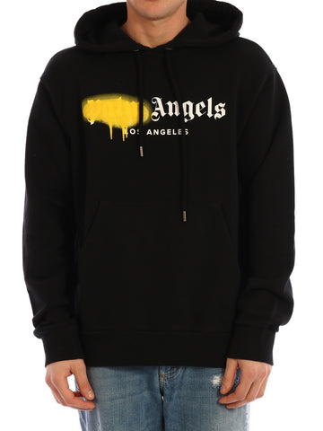 Palm Angels Los Angeles Spray Hooded Sweatshirt