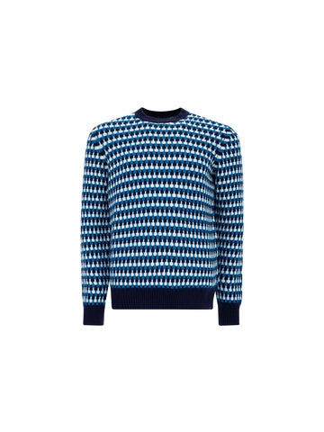 Prada Geometric Print Sweater