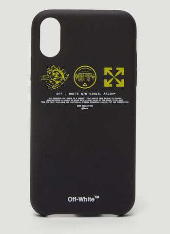 Off-White Logo iPhone XS Case
