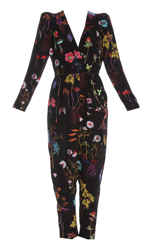 Stella McCartney Floral Print Jumpsuit