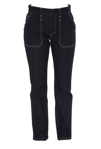 Chloé Contrast Stitching Jeans