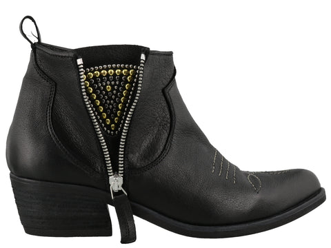Parisienne Zip Up Ankle Boots