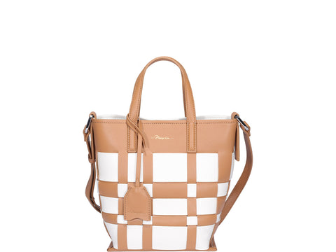 3.1 Phillip Lim Checked Top Handle Bag