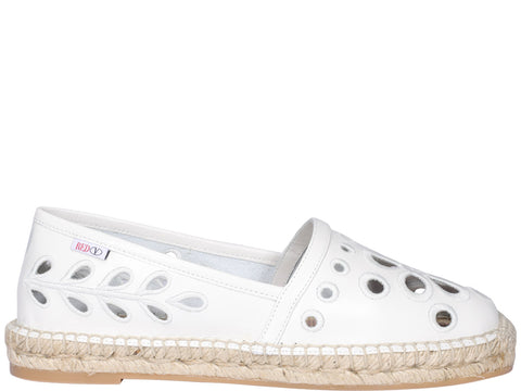 Red Valentino Embroidered Espadrilles