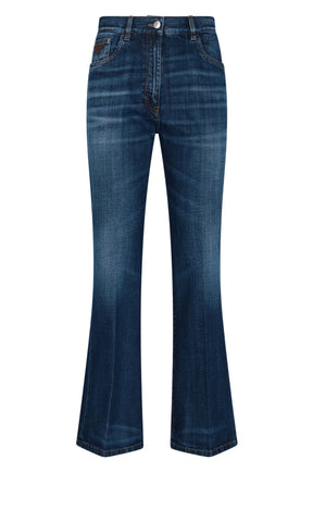 Prada Flared Denim Jeans