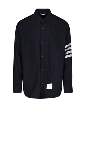 Thom Browne 4-Bar Pocket Shirt