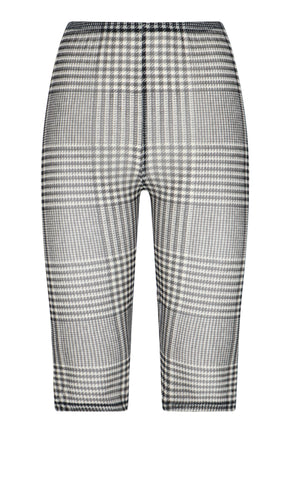 MM6 Maison Margiela Prince Of Wales Checked Sheer Shorts