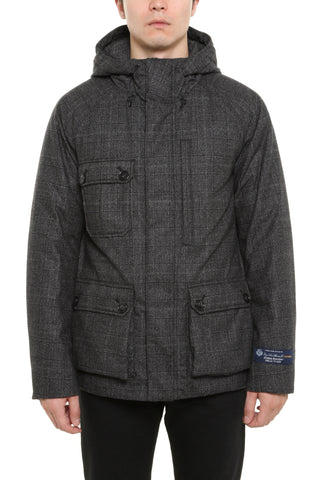 Woolrich Plaid Down Jacket