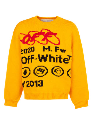 Off-White Logo Motif Sweatshirt