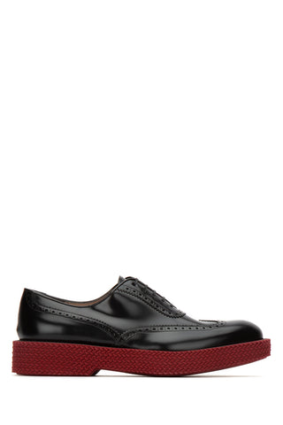 Salvatore Ferragamo Oxford Hybrid Lace-Up Shoes
