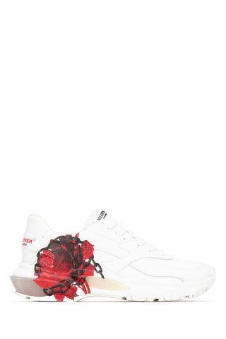 Valentino X Undercover Bounce Rose Printed Sneakers