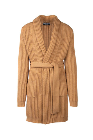 Dolce & Gabbana Belted Long Cardigan