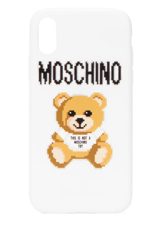 Moschino Teddy Pixel iPhone XS/X Case